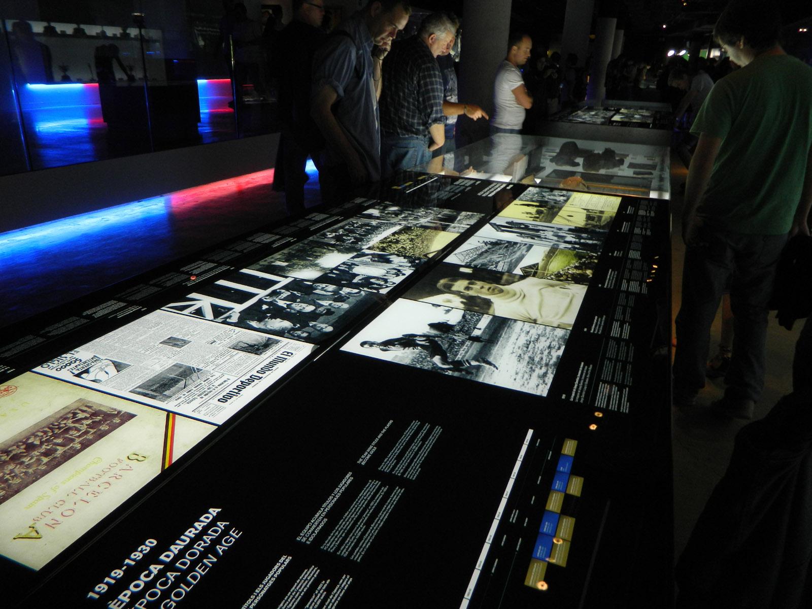 Muzeum na stadionie Camp Nou