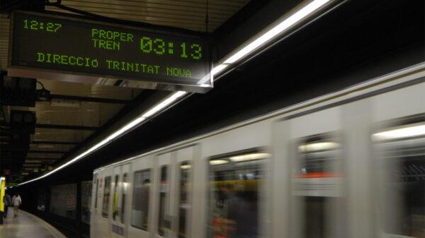 Metro w Barcelonie