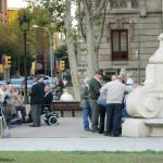 Arc de Triomf - miejsce spotkań mieszkańców Barcelony