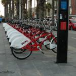 Blok z rowerami dla mieszkańców Barcelony
