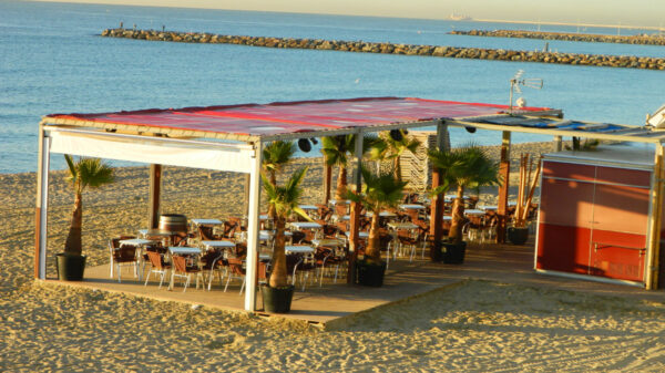 Barcelona - bar na plaży