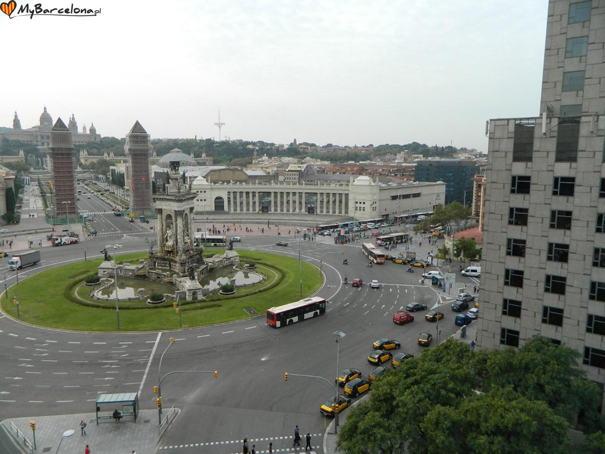 Las Arenas - widok z góry
