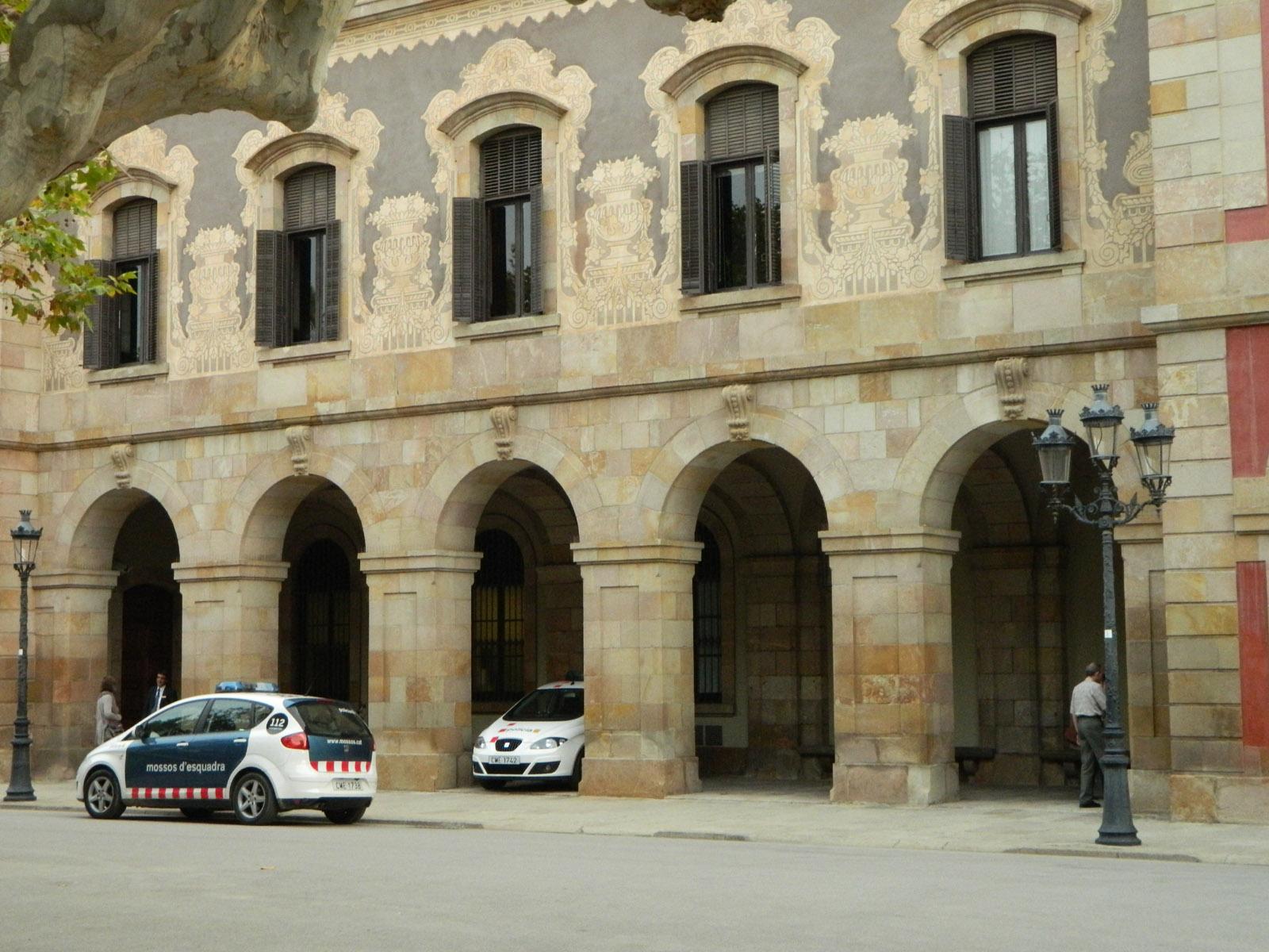 Park de la Ciutadella - Parlament Katalonii
