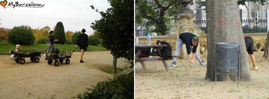 Rekreacja w Park de la Ciutadella