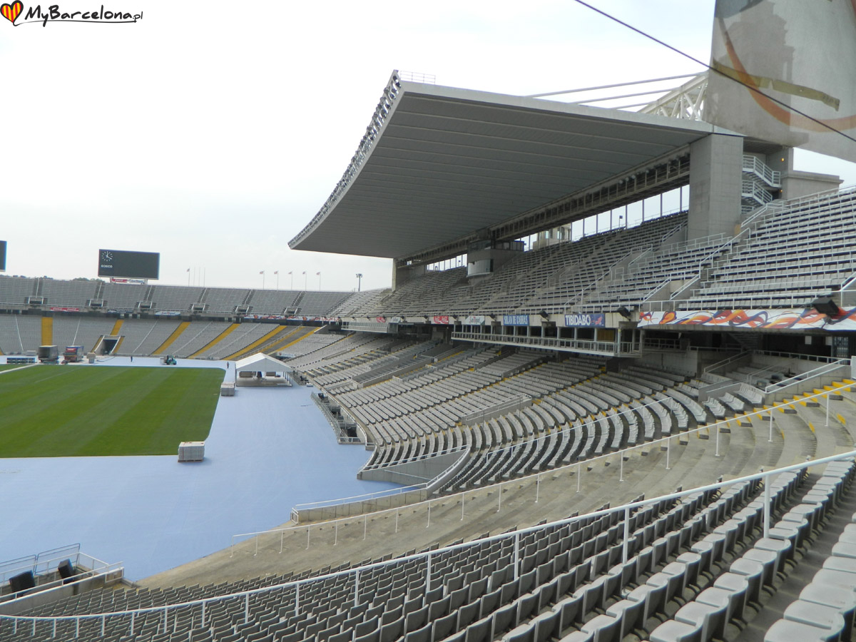 Wzgórze Montjuic - stadion olimpijski