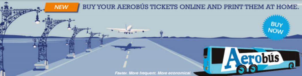 Aerobus - zarezerwuj online