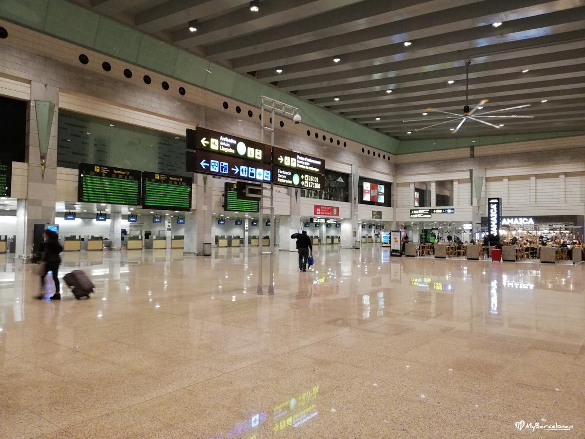 Lotnisko el Prat - Terminal 2