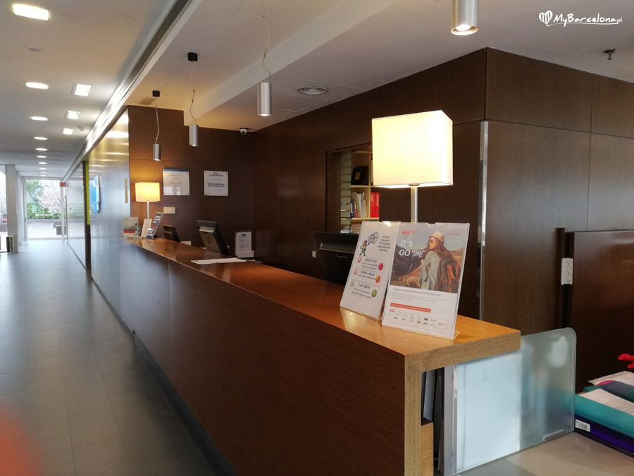 Holiday Inn Express Barcelona - recepcja