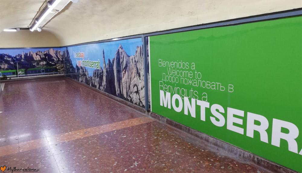 Montserrat - plac hiszpański