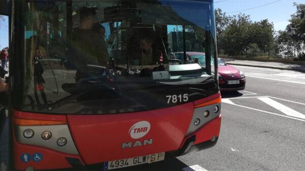 Autobusy w Barcelonie