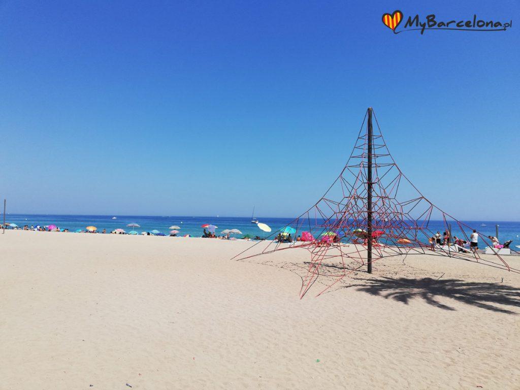 Badalona plaża