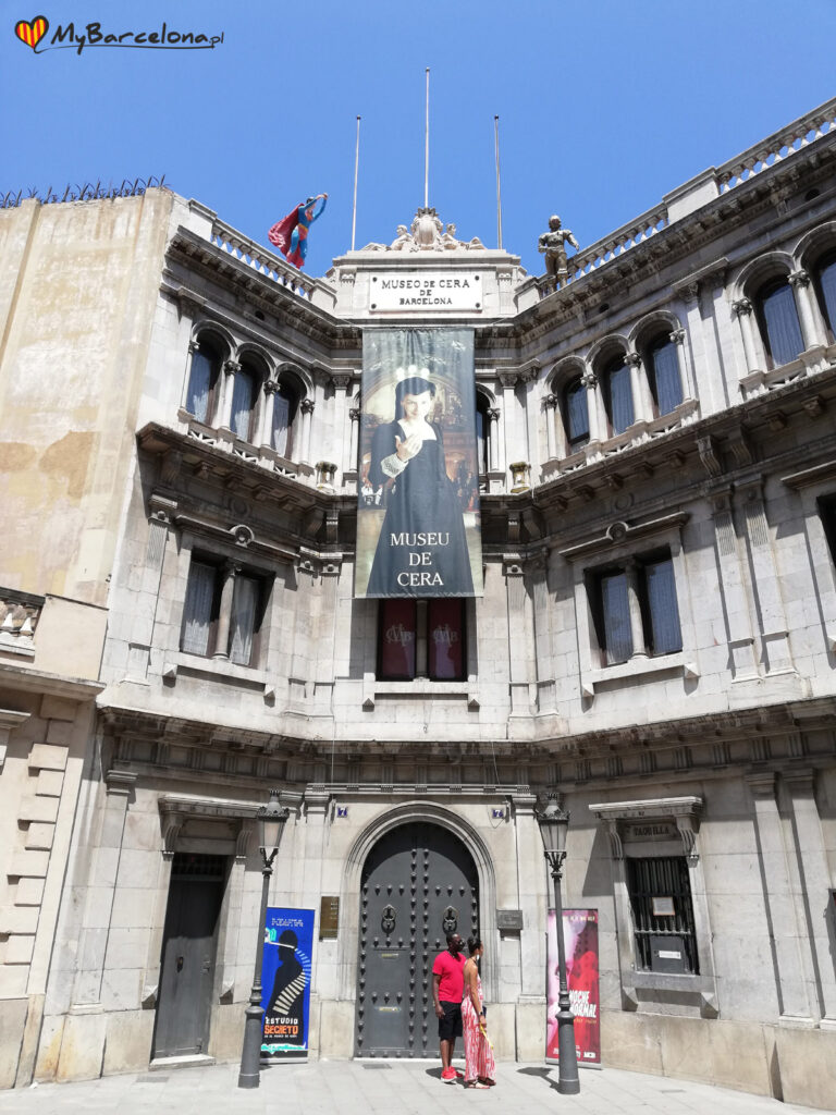 Muzeum Figur Woskowych Barcelona