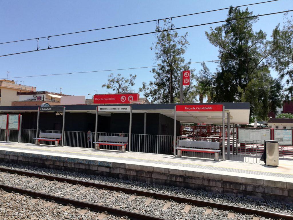 Stacja Platja de Castelldefels