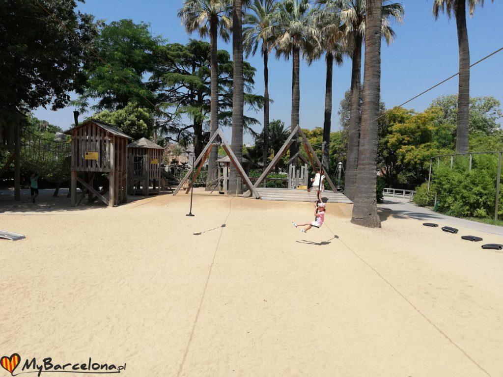 Zoo Barcelona - plac zabaw