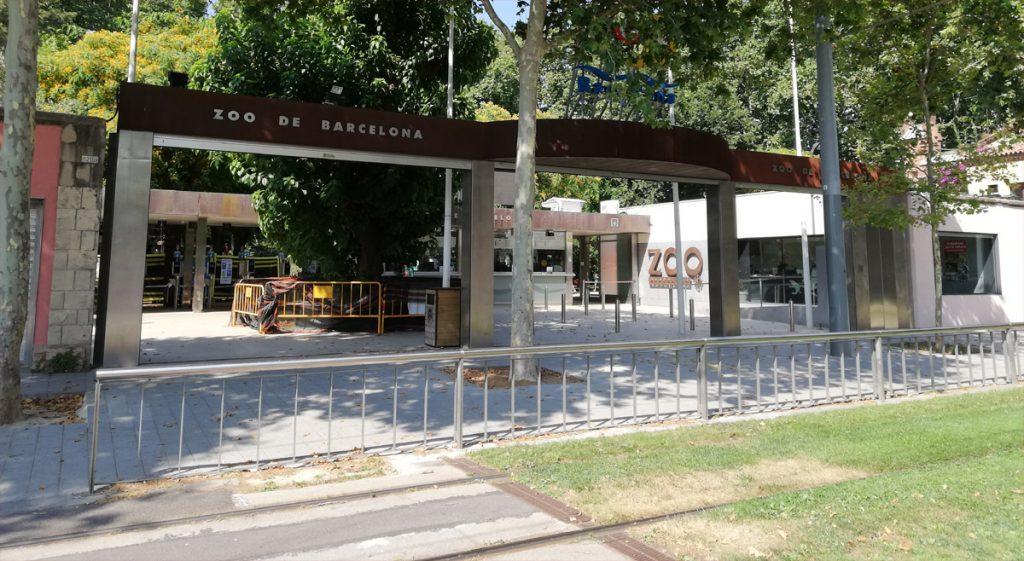 Zoo Barcelona - wejście