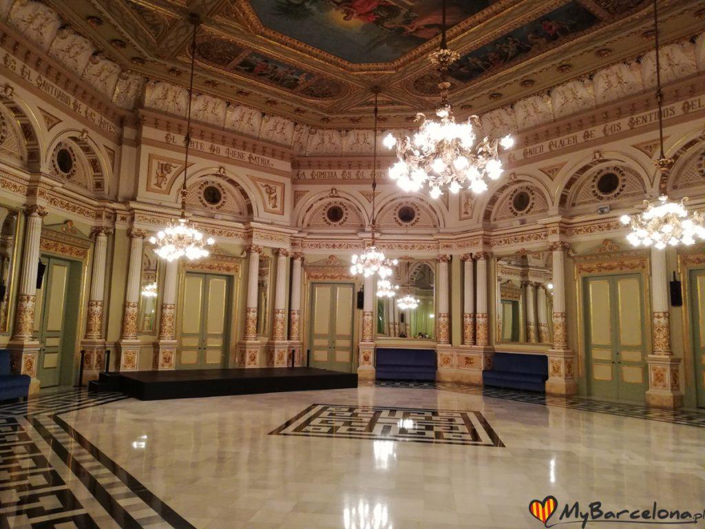 Teatr Liceu - Salon Luster