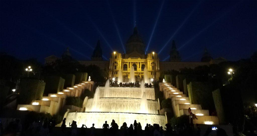 Magiczne fontanny